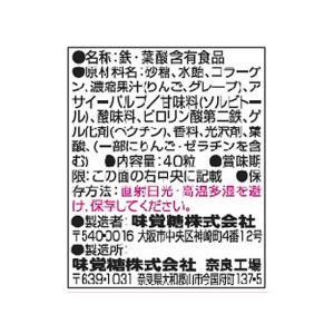 UHA味覚糖/UHAグミサプリ 鉄&葉酸 20日分 40粒|cocodecow|02