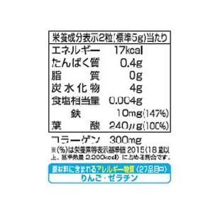 UHA味覚糖/UHAグミサプリ 鉄&葉酸 20日分 40粒|cocodecow|03
