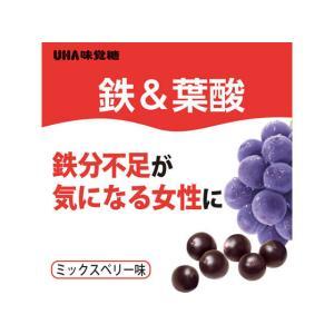 UHA味覚糖/UHAグミサプリ 鉄&葉酸 20日分 40粒|cocodecow|05