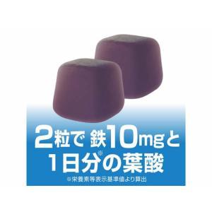 UHA味覚糖/UHAグミサプリ 鉄&葉酸 20日分 40粒|cocodecow|06
