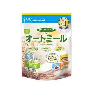 日本食品製造/オーガニックピュアオートミール 260g/0110070|cocodecow