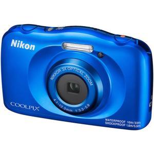 ニコン/防水・耐衝撃デジタルカメラ COOLPIX W150 ブルー/W150BL|cocodecow