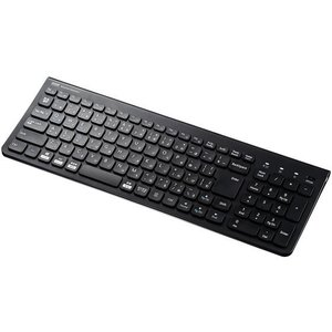 サンワサプライ/Bluetoothスリムキーボードテンキー付ブラック/SKB-BT31BK|cocodecow