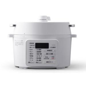 アイリスオーヤマ/電気圧力鍋 2.2L/PC-MA2-W