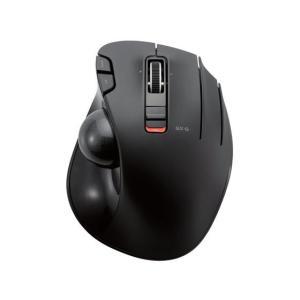 エレコム/無線トラックボールマウス 親指 6ボタン ブラック/M-XT3DRBK