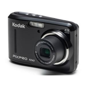 Kodak/コンパクトデジタルカメラ 単3電池対応/FZ43 BK|cocodecow