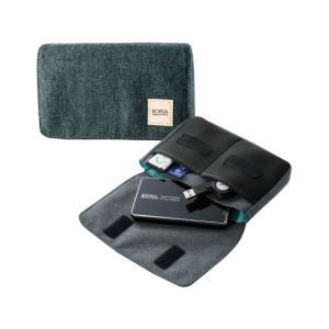 エレコム/ガジェットポーチ コンパクト Mサイズ/BMA-GP05BK