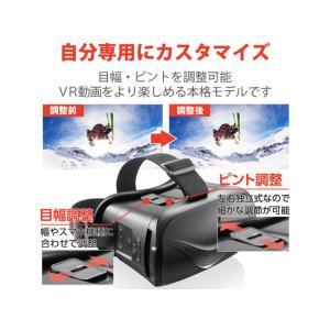 エレコム/VRゴーグル Bluetoothコントローラー一体型/VRG-BT02BK cocodecow 03