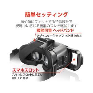 エレコム/VRゴーグル Bluetoothコントローラー一体型/VRG-BT02BK cocodecow 04