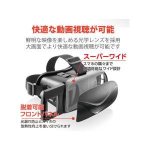 エレコム/VRゴーグル Bluetoothコントローラー一体型/VRG-BT02BK cocodecow 05