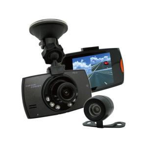 ブロードウォッチ/バックカメラ付き 小型ドライブレコーダー|cocodecow