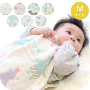 スリーパー 日本製 洗える 6重ガーゼ サンデシカ Mサイズ 綿100% 送料無料 ココデシカ ベビー 新生児 赤ちゃん キッズ cocodesica
