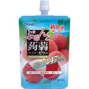 ぷるんと蒟蒻ゼリー スタンディング ライチ 130gの関連商品5