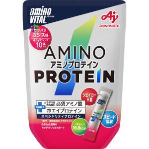 ※アミノバイタル アミノプロテイン カシス味 パウチ 43g(4.3g×10本)|cocokarafine