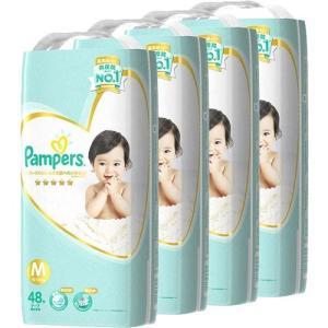 [ネット限定]パンパース はじめての肌への いちばんM ケース販売 48枚入×4個