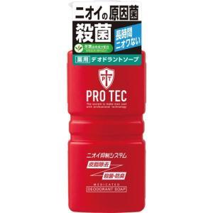 PRO TEC デオドラントソープ ポンプ 420ml[医薬部外品]