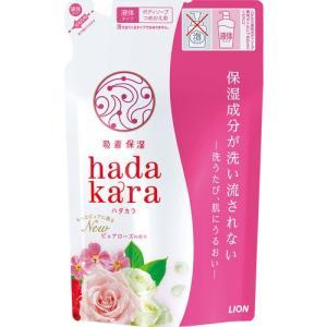 hadakara(ハダカラ) ボディソープ ピュアローズの香り つめかえ用 360mL|cocokarafine