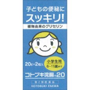 コトブキ浣腸20 20g×2個[第2類医薬品]