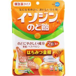 イソジン のど飴 はちみつ金柑 個包装タイプ 54g cocokarafine