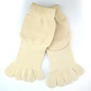 5本指ソックス メンズ レディース 靴下 ゆびのばソックス Neo EVE(イヴ) ライトベージュ