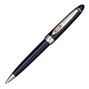 高級 ボールペン 名入れ ダックス (DAKS) ラスティリア ワンポイントクロスチェック ブルー ボールペン 66-1235-240の商品画像|ナビ
