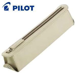 ペンケース 革 名入れ パイロット トレンダーレザーライト ペンケース ベージュ TLPSF-07-BE|cocolab