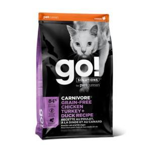 GO! カーニボア チキンターキー+ダックキャット 3.63kg|coconatural