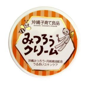沖縄子育て良品 みつろうクリーム (25g)スキンケアクリーム 肌荒れ アトピー 肌トラブル 保湿クリーム|coconatural