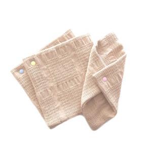 華布 スナップ付ライナーM アソート 3枚入り ピンク・イエロー・ブルー|coconatural