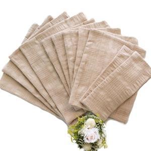 華布(hanafu)のオーガニックコットンの布ナプキン【Sサイズ(ロング):約9×約23cm(2枚)、Mサイズ:約18×約24cm(5枚)、Lサイズ:約23×約28cm(4枚)】|coconatural