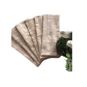 華布(hanafu)のオーガニックコットンの布ナプキン Sサイズ(約23×約9cm)まとめ買いセット(6枚入り)|coconatural