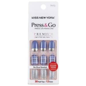 KISS NEWYORK ネイルチップPress&Go BHJ22J|coconatural