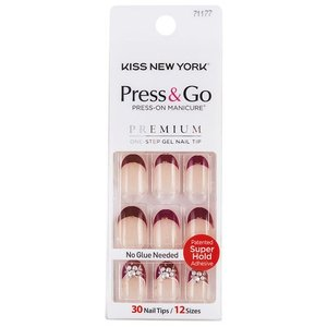 KISS NEWYORK ネイルチップPress&Go BHJ26J|coconatural