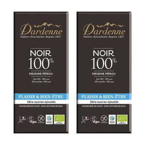 ダーデン 有機チョコレートダーク カカオ100%×2個組|coconatural