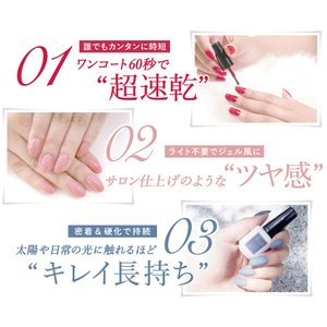 ジーニッシュマニキュア 69 メルズーガ coconatural 04