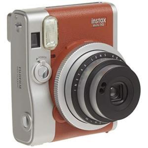 FUJIFILM インスタントカメラ チェキ instax mini 90 ネオクラシック ブラウン INSTAX MINI 90 BROW|coconina