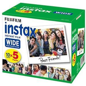 FUJIFILM インスタントカメラ ワイド用フィルム 50枚入 INSTAX WIDE K R 5|coconina