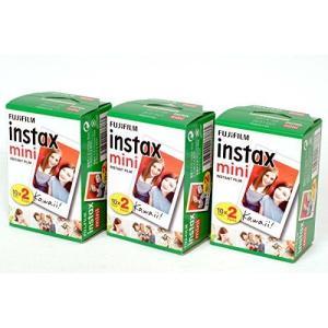 FUJIFILM インスタントカメラ チェキ用フィルム INSTAX MINI WW 2 20枚入り×3パックセット 計60枚|coconina