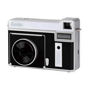 Kenko インスタントカメラ モノクロカメラ ブラック 感熱紙使用 約80回プリント可能 microUSB充電 KC-TY01 BK|coconina