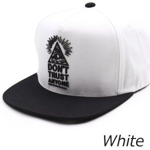 キャップ帽 スナップバックキャップ ピラミッド イルミナティ 装飾 帽子 4色 PREMIER|coconoco