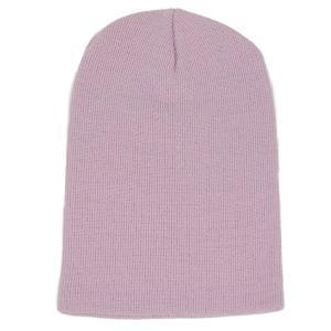 ニット帽  メンズ レディース ビーニー ライトパープル色 アクリル素材 550円ぽっきり 送料無料 coconoco