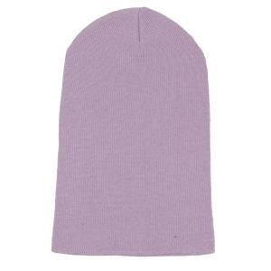 ニット帽  メンズ レディース ビーニー パープル色 コットン 綿素材 550円ぽっきり 送料無料 coconoco