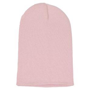 ニット帽  メンズ レディース ビーニー もも・ピンク色 コットン アクリル 混紡 550円ぽっきり 送料無料 coconoco