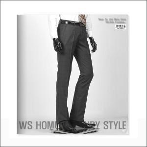 スラックス メンズ パンツ グレー チェックー jj254p|coconoco