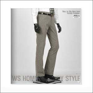 スラックス メンズ パンツ 淡い ブラウン jj255p|coconoco