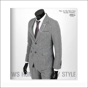 ジャケット スーツ 上着 ブレーザー 淡い ネイビー スリムスーツ jj256j|coconoco