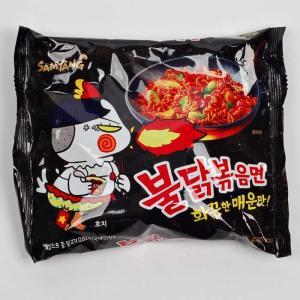プルダック炒め麺 韓国発 激辛 旨辛 インスタント麺 ラーメン プルダックポックンミョン 1袋