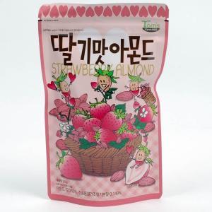 いちご味 アーモンド 210g ハニーバターアーモンドの仲間 イチゴ味 苺 アーモンド 1袋 韓国で...