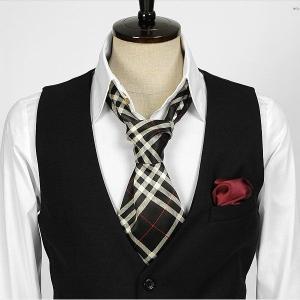 チェック柄・ブラック・ネクタイとスカーフの特徴を合わせた「ネックスカーフ」「ストール」「マフラー」 NTF12|coconoco