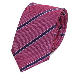 ネクタイ レッド・ピンク色 ストライプ レジメンタル タイ やや細い スリム ネクタイ 大剣幅7cm ntm6228|coconoco